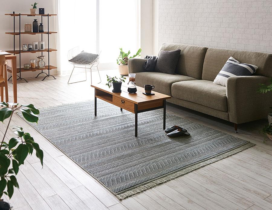 DESERT 48112/48114 ウィルトンカーペット【サイズ:約200cm×290cm】ベルギー製スミノエ 輸入絨毯 ラグ コレクション