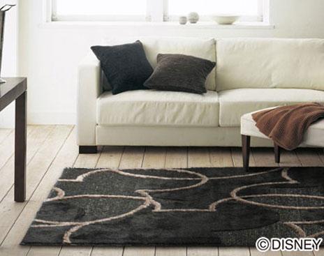 Disney Suminoe Ragmat Series Mickey PAL Line Rugs Carpet Disney/MICKEY/pearl  Line Rug