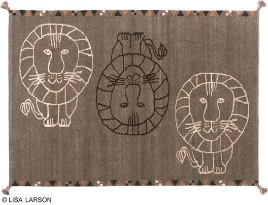登場! リサ【LISA・ラーソン ライオン 絨毯 ギャベ ラグ マット【サイズ:約140cm×200cm】インド製デザイナーズブランド 手織り【LISA LARSON】ウール100% 手織り ギャベ織物ラグマット カーペット 絨毯, チガサキシ:0fd417bf --- spotlightonasia.com