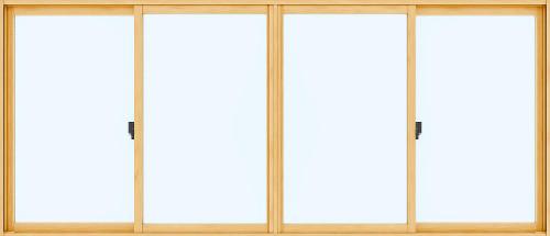 【内窓】 プラメイクE2 幅3001~4000 高さ240~1500/単板3mm透明ガラス/引違い窓/4枚建て・偏芯4枚建て【工事別】【送料無料】リフォーム 防犯 断熱 省エネ 結露防止 防音