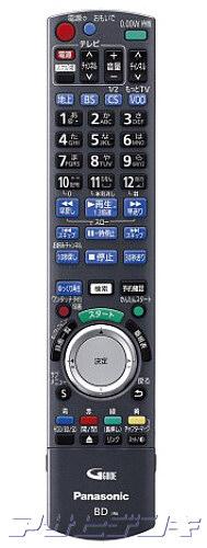 Panasonic(パナソニック)DIGA(ディーガ)DMR-BZT860用純正リモコン RFKFBZT860