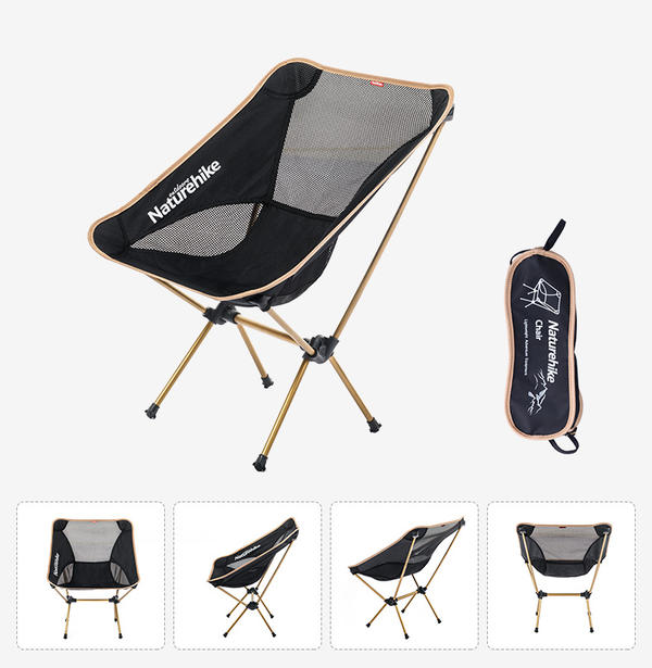 The Folding Chair Folding Chair Outdoor Chair Chair Folding Chair Moon Chair Folding Camping Picnic Hiking Which Is Strong With 800 G And Super