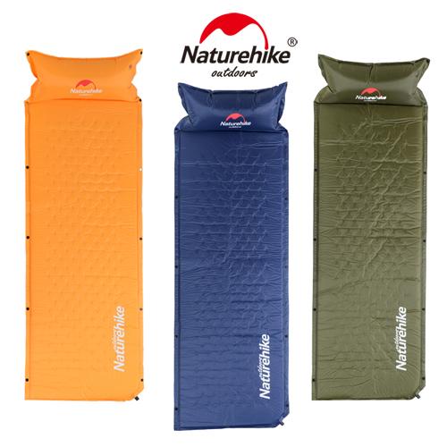 自動膨張式 枕付マット