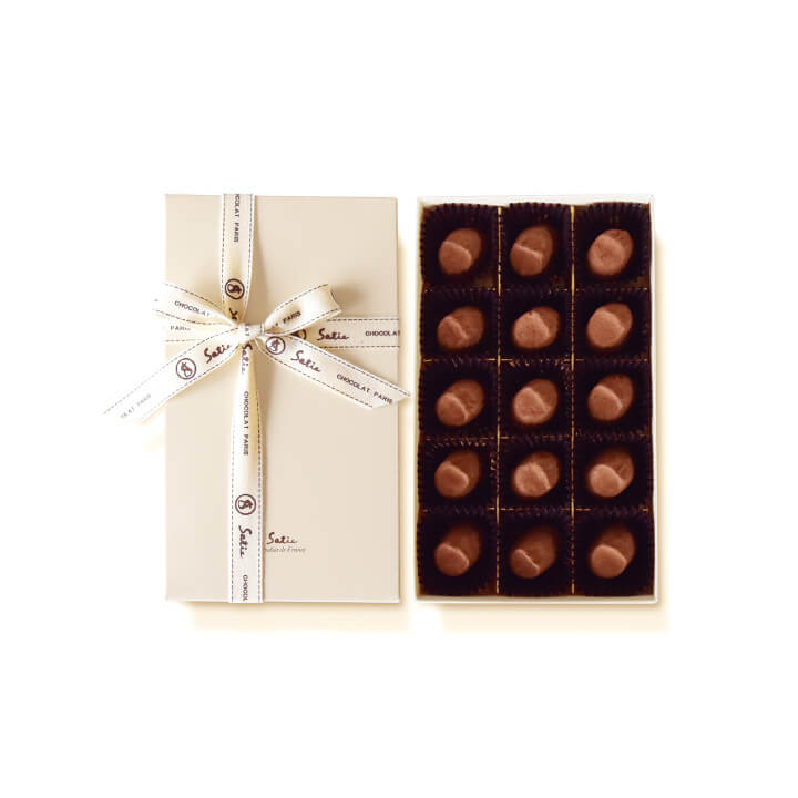 チョコレート ギフト プレゼント 詰め合わせ 高級 高級な お菓子 スイーツ フランス製 人気 チョコ 敬老の日 シャポーショコラ 秋 サティー 内祝い 割引も実施中 Satie 15個入り お礼 手土産