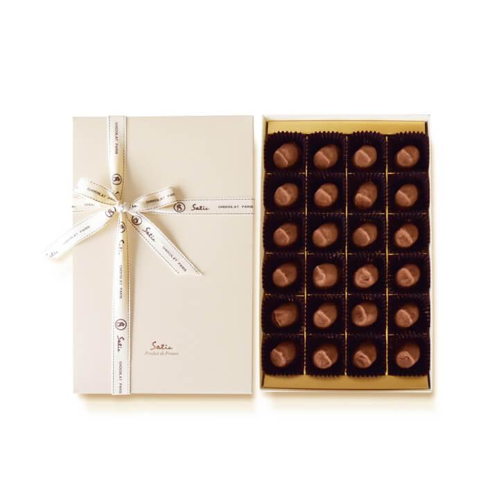 ランキングTOP5 チョコレート ギフト プレゼント 詰め合わせ 高級 お菓子 スイーツ 即納最大半額 フランス製 人気 チョコ 秋 敬老の日 内祝い Satie シャポーショコラ 手土産 24個入り お礼 サティー
