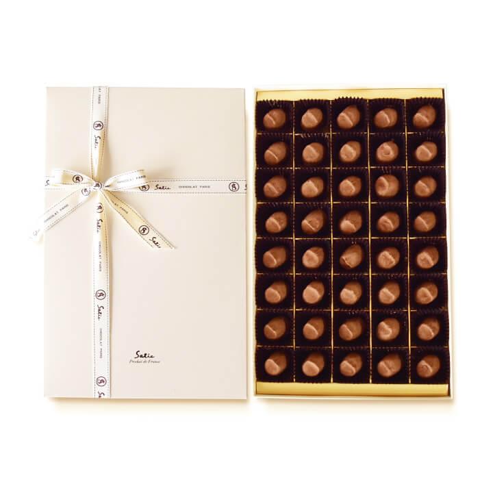 Satie サティー チョコレート シャポーショコラ 40個入り