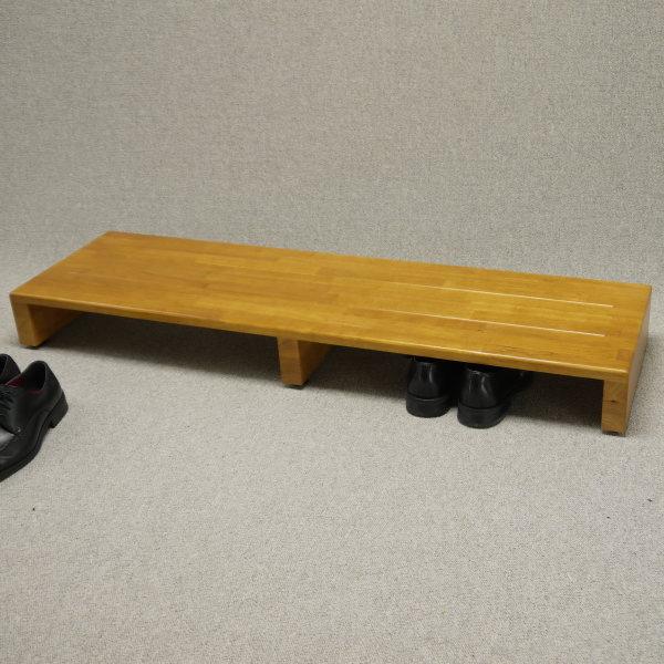 玄関 踏み台 120cm幅 送料無料(北海道・東北・九州・沖縄・離島を除く)  120センチ 120cm 玄関踏台 げんかんふみだい ステップ 木製