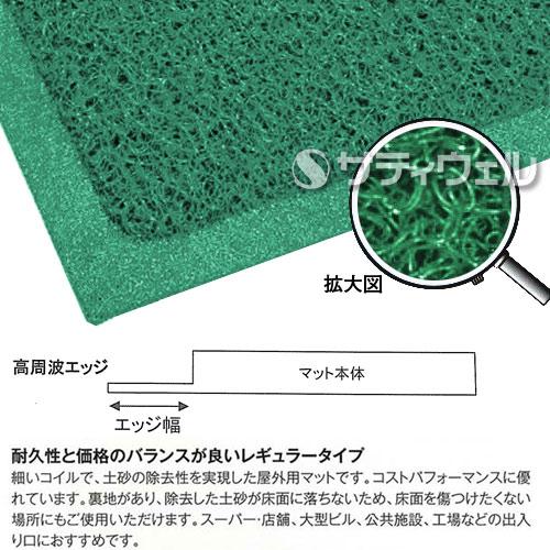 【送料無料】【受注生産品】3M ノーマッドマット スタンダード・クッション 900×1,800mm ライトグリーン
