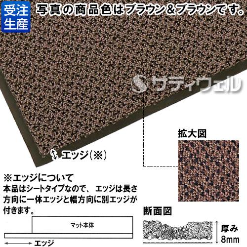 【送料無料】【受注生産品】3M エンハンス マット 850 900×1,500mm グレー&グレー E8 G/G 900X1500 2