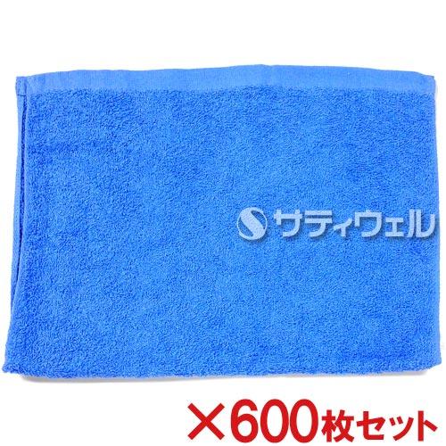 【送料無料】犬飼タオル 洗車タオル 約34×52cm ブルー 176-2 600枚セット