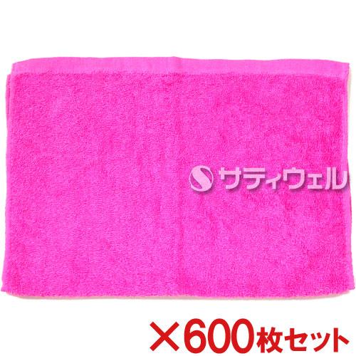 【送料無料】犬飼タオル 洗車タオル 約34×52cm ピンク 176-2 600枚セット