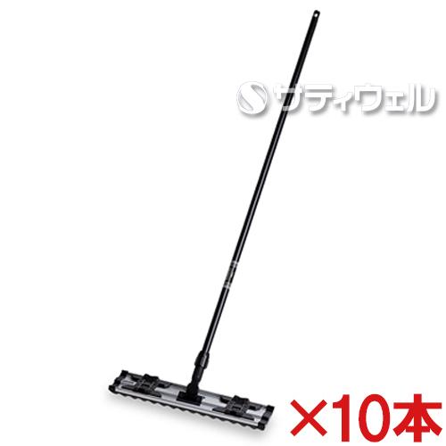 【送料無料】テラモト ライトモップ(黒パイプ柄) 45cm CL-352-045-0 10本セット