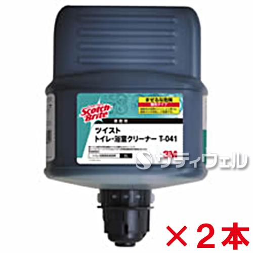 3M トイレ・浴室クリーナー (除菌剤配合) T-041 2L 2本セット