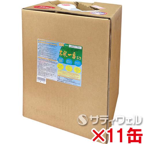 【送料無料】 ミヤキ 木肌一番エコ 16kg 11缶セット