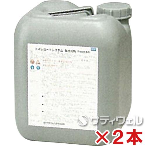 【送料無料】日本ケミカル工業 トイレコートシステム 酸性洗剤 10kg 2本セット