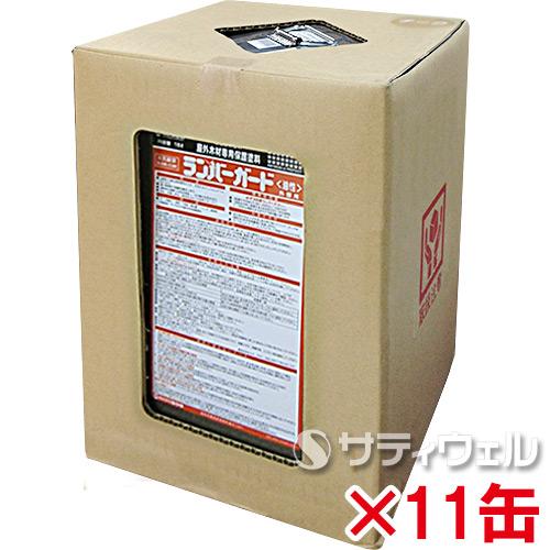 【送料無料】 ミヤキ ランバーガード外部用 (色:スコッチ) 18L 11缶セット
