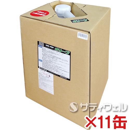 【送料無料】 ミヤキ オリーブ 18L 11缶セット