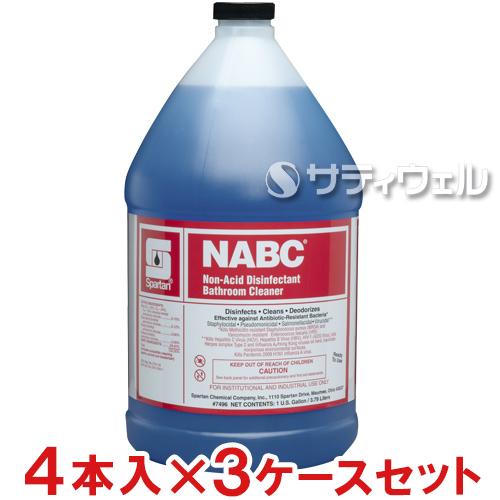【送料無料】【法人専用】【直送専用品】アムテック(スパルタン) NABC(ナバック) 3.8L 4本×3ケースセット