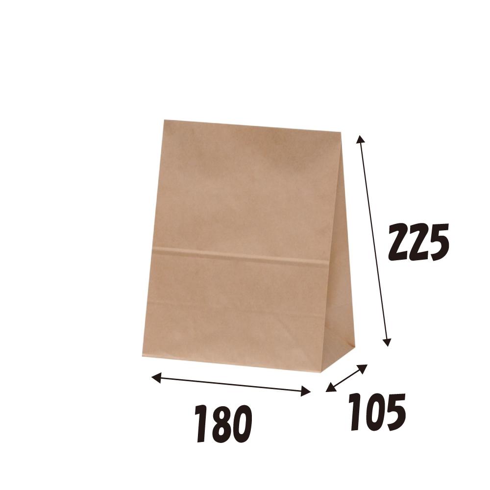 角底袋 バースデー 記念日 ギフト 贈物 当店限定販売 お勧め 通販 H300 未晒 100枚 クラフト 紙袋 茶無地 マチ付紙袋