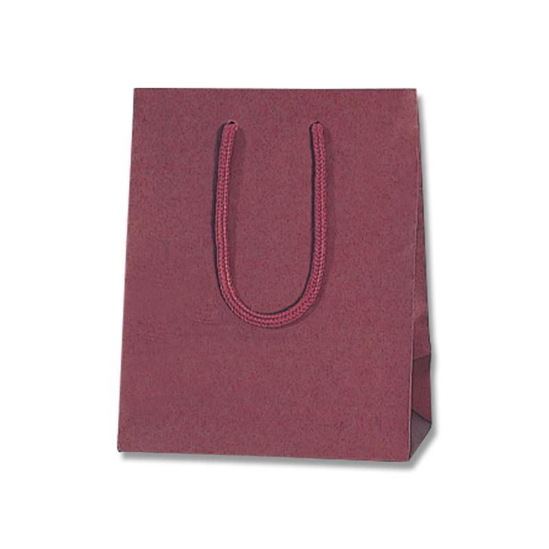 マット感を生かした紙袋です 紙袋 手提げ カラーチャームバッグ ショップ 20-12 正規認証品 新規格 エンジ 10枚 紙手提袋 ラッピングバック 手提げ袋 手提げ紙袋