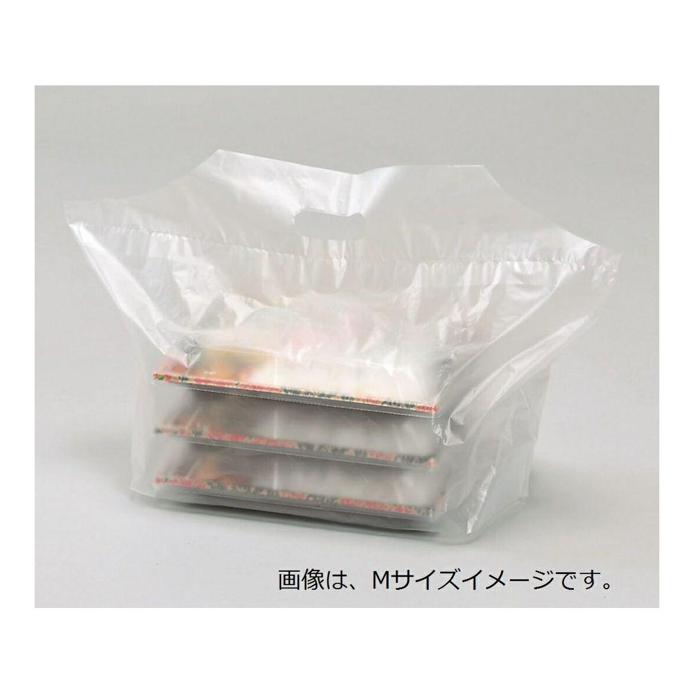【ケース販売】フラットバッグ L  フランス 800枚【小判抜き袋、ケーキ持ち帰り袋、和洋菓子持ち帰り】