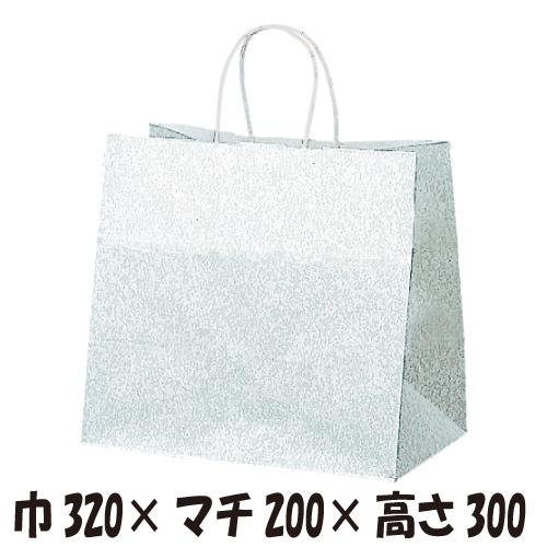 【ケース販売】マチ広紙手提袋  HW-2 エスプリ 200枚 サイズ320×200×300mm【業務用 紙袋 手提袋 手提げ袋】