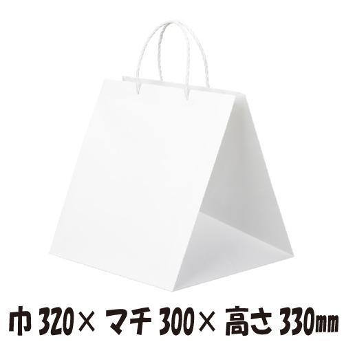 【ケース販売】高級手提げ袋 キューブ Q-300 50枚 巾320×マチ300×高さ330mm【業務用 手提げ袋 手提げ紙袋 紙袋 マチ広 手提袋 手提げ袋】