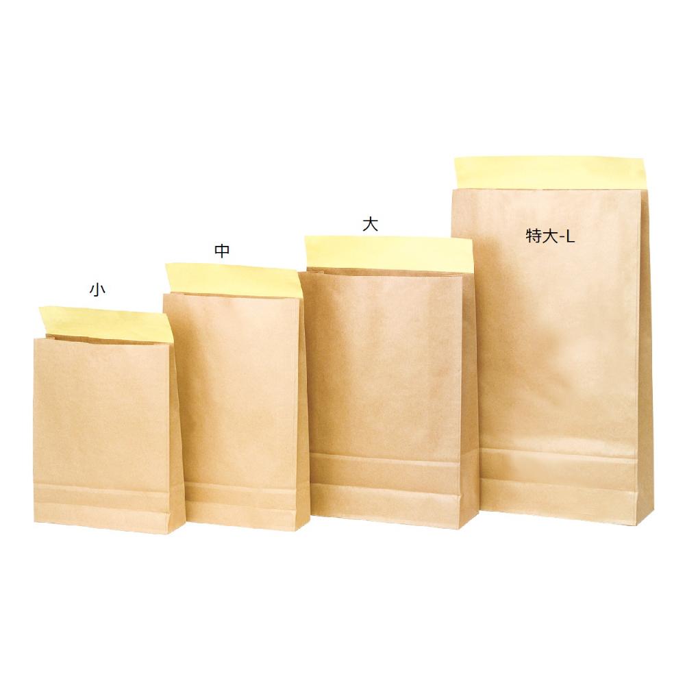 【ケース販売】宅配袋 WP未晒 大 300枚 サイズ320×115×430+60(mm)【デリバリーパック デリバリー袋】