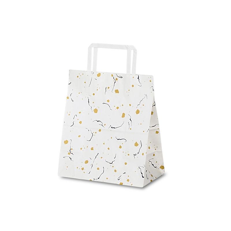 【ケース販売】紙袋 T-Z 和楽 400枚 サイズ 220×120×250mm【業務用 手提げ ラッピング】
