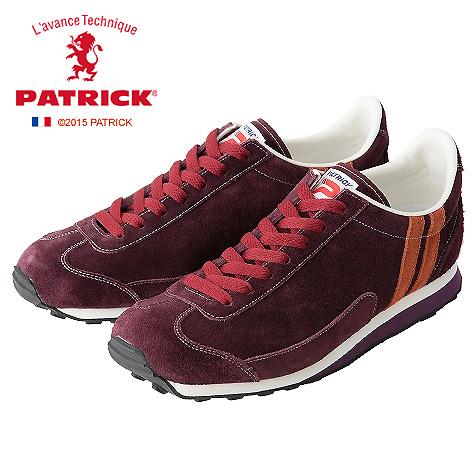 【ワンサイズ 23.5cm】[レディース] PATRIC パトリック スニーカー BOSTON2 ボストン2 BRD WIN ワインレッド
