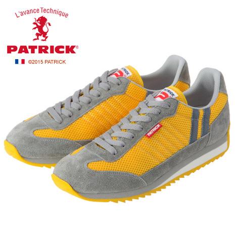 【ワンサイズ 24.5cm】[レディース] PATRIC パトリック スニーカー C-MARATHON YLW クールマラソン イエローYE