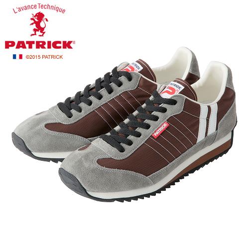 【23.0 / 27.0cm】[メンズ・レディース] PATRIC MARATHON CF BR パトリック マラソン メンズ レディース スニーカー BRC