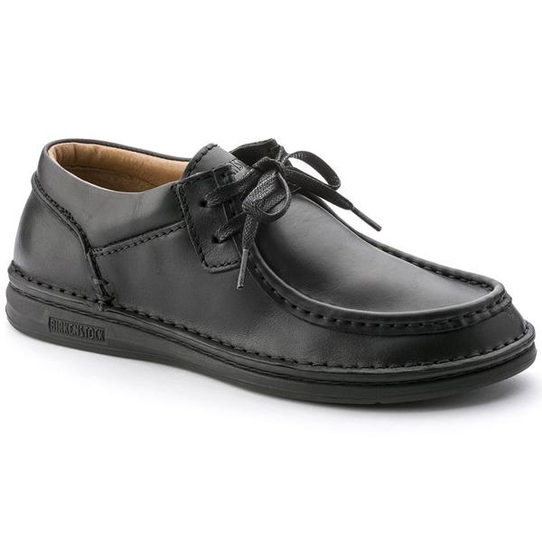 [メンズ] BIRKENSTOCK Pasadena Natural Leather ビルケンシュトック パサデナ ナチュラルレザー Black 黒 BK