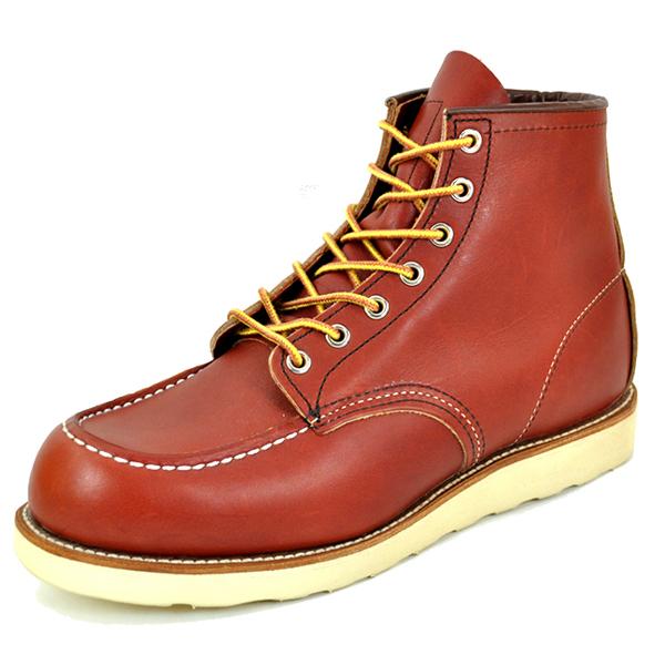 【今なら10%OFFクーポンが利用できます】RED WING レッドウィング 6 BROWN メンズ ブーツ 茶色 ブラウン 8875
