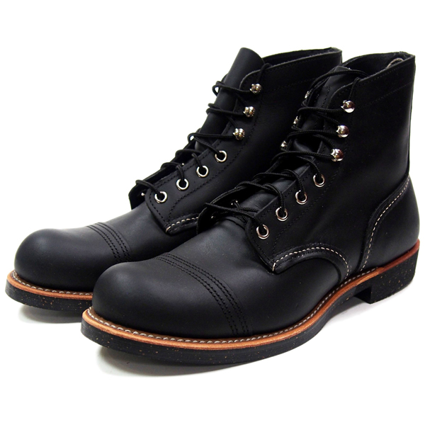 RED WING レッドウィング 6 BLACK HARNESS 8114 メンズ ブーツ 黒 ブラック