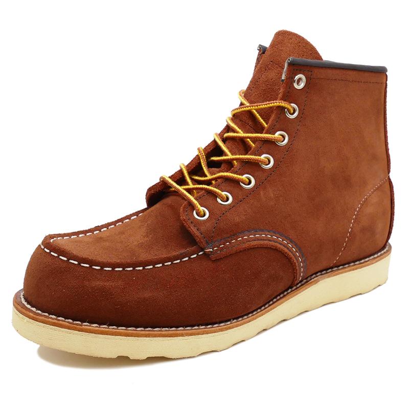 【ワンサイズ 25.5cm】RED WING レッドウィング 6 MOC COPPER メンズ ブーツ 茶色 ブラウン 8810