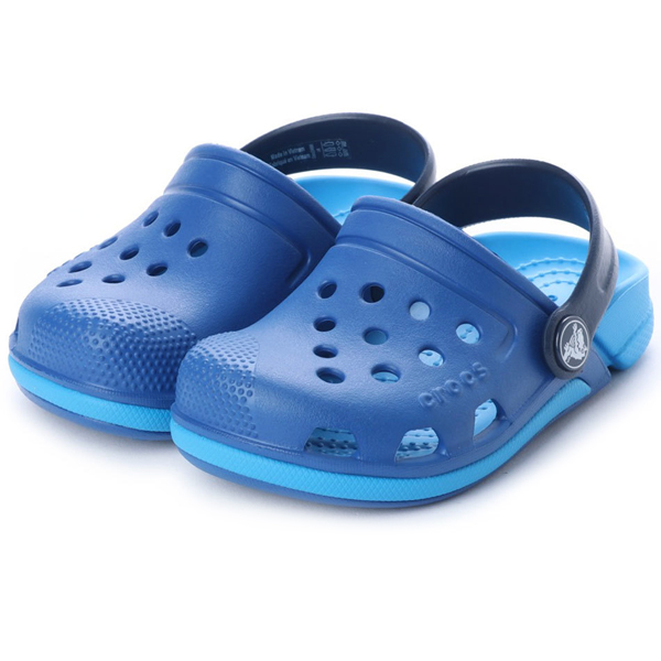 1fa0d5f8c 2018 new work  kids  crocs Electro III Clog K clock Sue lek fatty tuna 3.0 clog  sandals Blue Jean Ocean