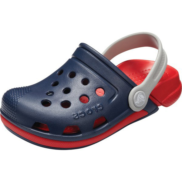e92b56c18 2018 new work  kids  crocs Electro III Clog K clock Sue lek fatty tuna 3.0 clog  sandals Navy Flame