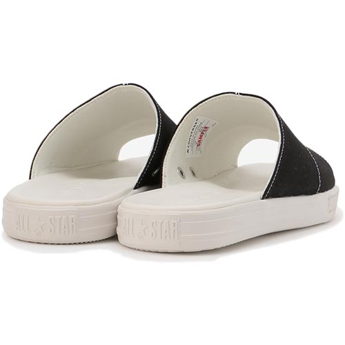 satoshoes  CONVERSE Converse CV sandals canvas black latest for ... f7682bee3
