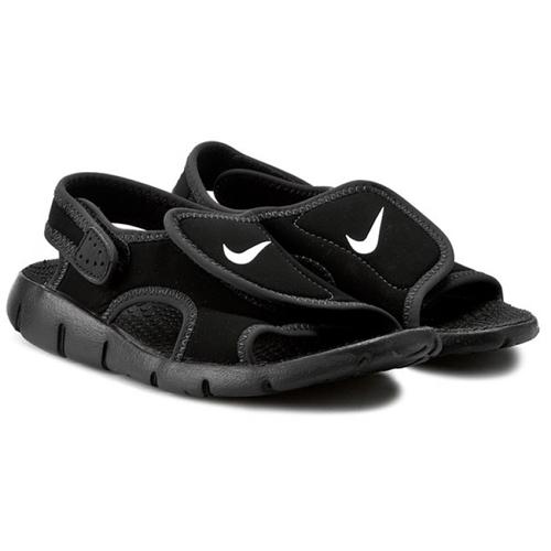 ea03c3bd0ad088  kids  NIKE Sunray Adjust GS PS Nike sun lei ad just kids sandals black    white BK