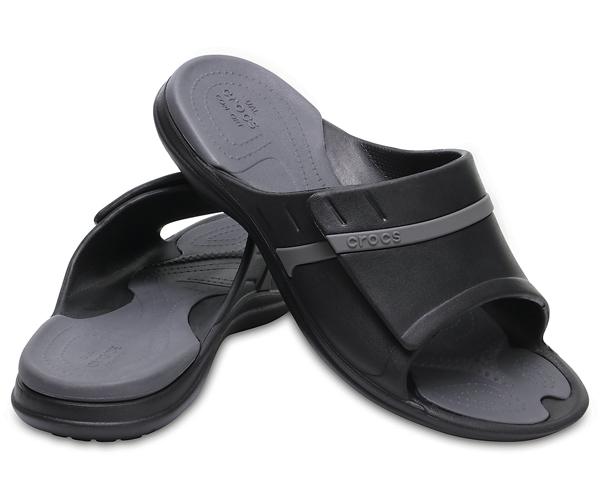 d44146ccfa91ce  men  crocs MODI Sport Slides クロックスモディスポーツスライドサンダル Black Graphite
