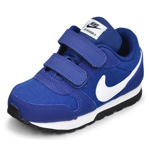 hot sale online f47de 931de kids baby Nike Nike MD runner 2 sneakers gym blue