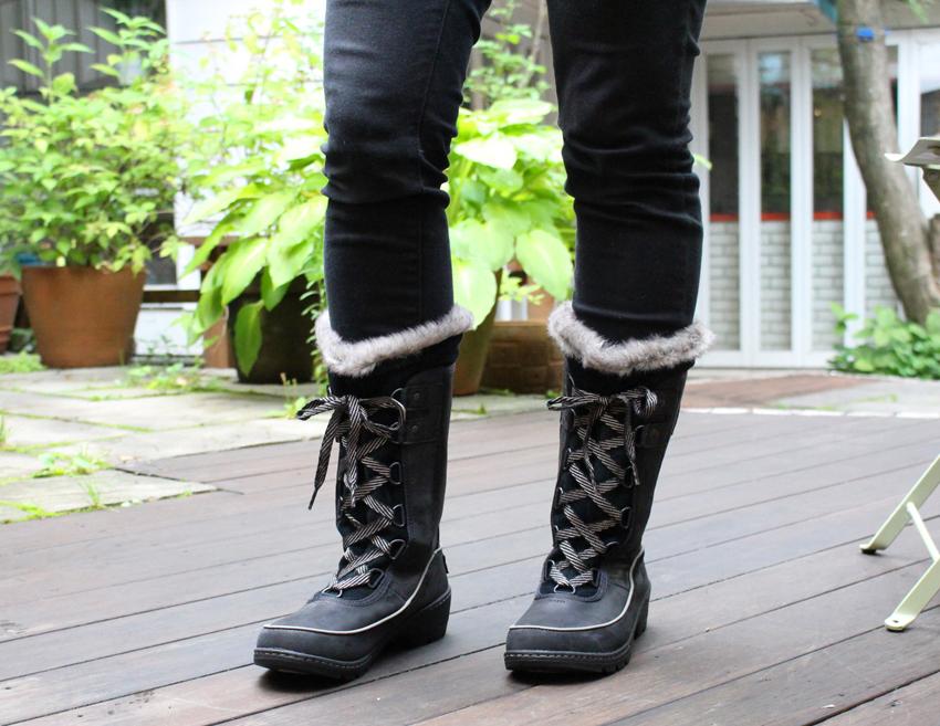 90c02588b2fe 2018 19 latest model  Lady s  Sorrel SOREL Tivoli III high premium winter  boots black NL2780