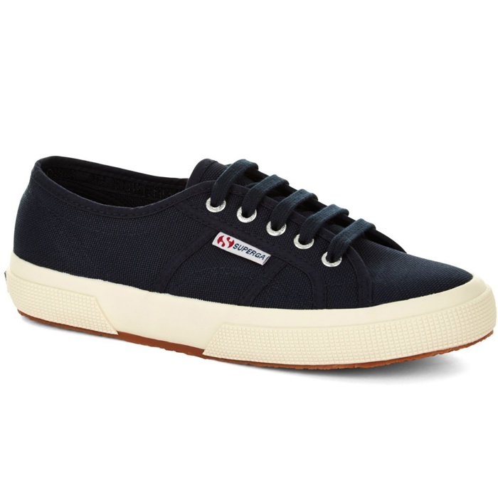 54436546b735a [Lady's] SUPERGA 2750 COTU CLASSIC Pelger classical music sneakers NAVY  S000010 ...