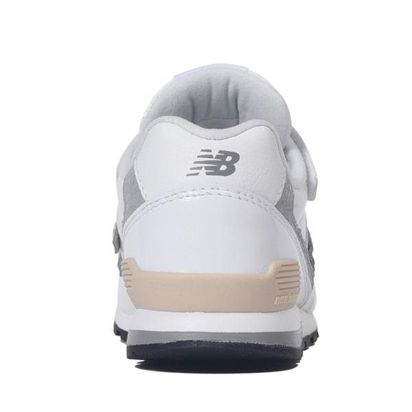 【17-22.5cm】[キッズ] New Balance  YV996 GWH ニューバランス  スニーカー ENAMEL WHITE