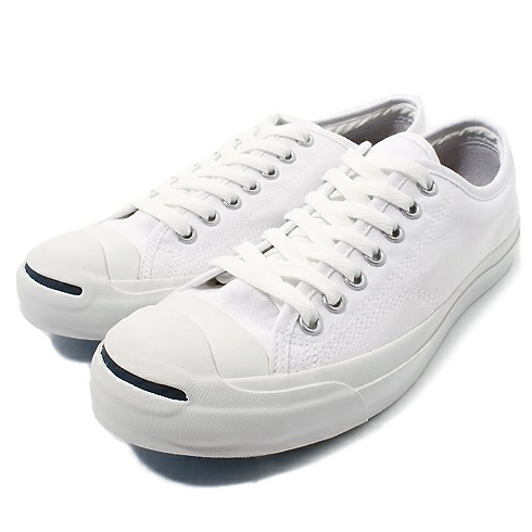 ea6cadf01896  men Lady s  converse Converse JACK PURCELL WHITE Jack Pursel unisex canvas  sneakers are casual