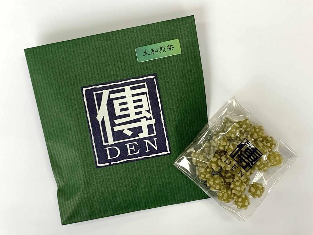 大和茶の煎茶の持つ 2020モデル うまみと香りが調和した風味豊かな味わい 奈良こんふぇいと 大和茶 煎茶 袋入り 国内送料無料 金平糖