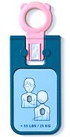 【取寄せ3週間】設置住所必須〔AED関連〕ハートスタートFRx用 小児用キー【TT200065368】※ご注文時に設置住所を備考欄に記載下さい【返品不可】〔F〕