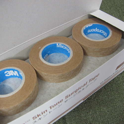 [3 M] pore skin tone surgical tape small 12.5 mm x 9.1 m x 12 roll Pack