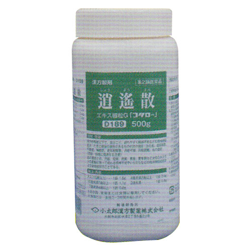 【第2類医薬品】〔小太郎漢方〕逍遥散エキス細粒G 500g(しょうようさん)